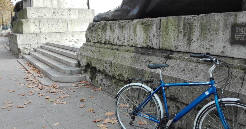 På guidet cykeltur gennem London
