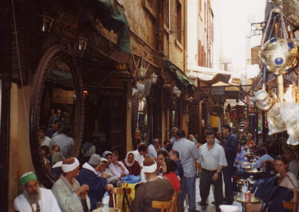 Egyptens ældste café, der hedder El Fishawy