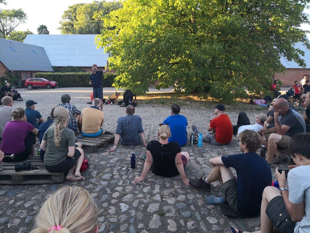 Foredrag om vandreudstyr ved Holstenshuus