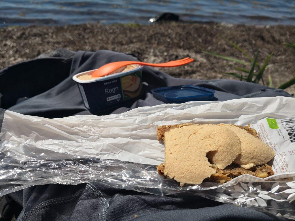 Frokost ved kysten