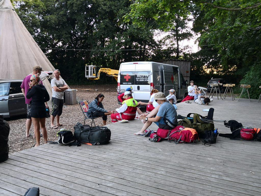 Samaritterne havde travlt under Fjällräven Classic