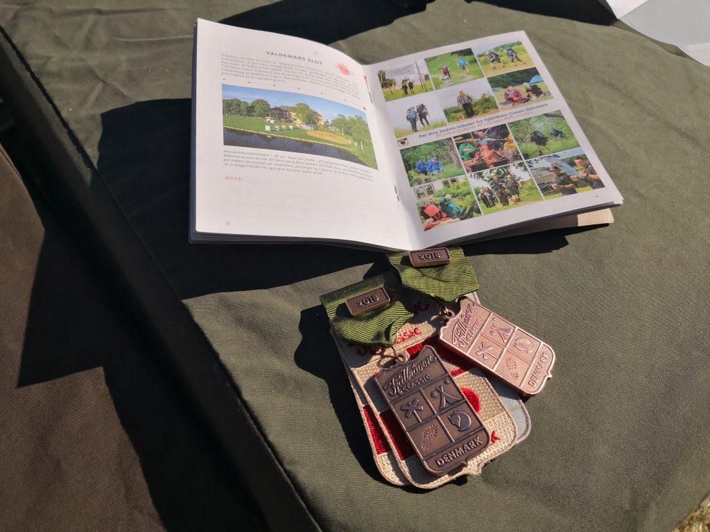 Seks stempler i Fjällräven Classics vandrebog udløser medalje og rygsækmærker