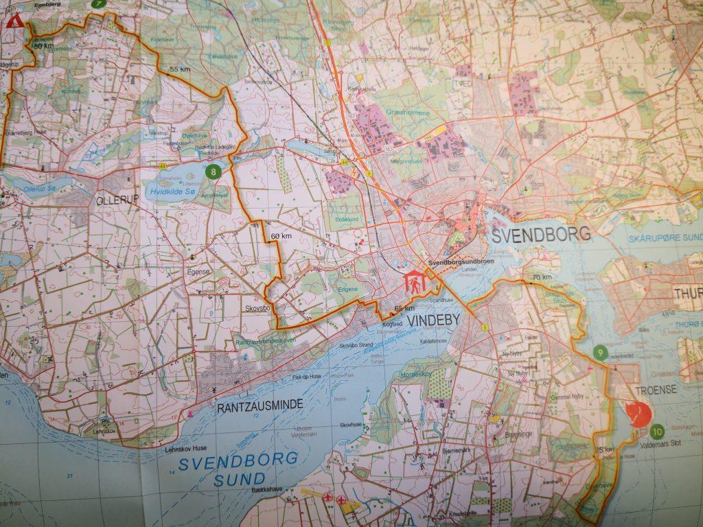 3. etape på Fjällräven Classic - fra Egebjerg til Valdemars Slot