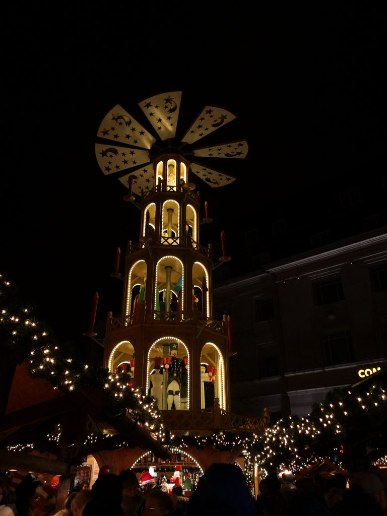 Julemarked ved Asmus-Bremer-Platz i Kiel