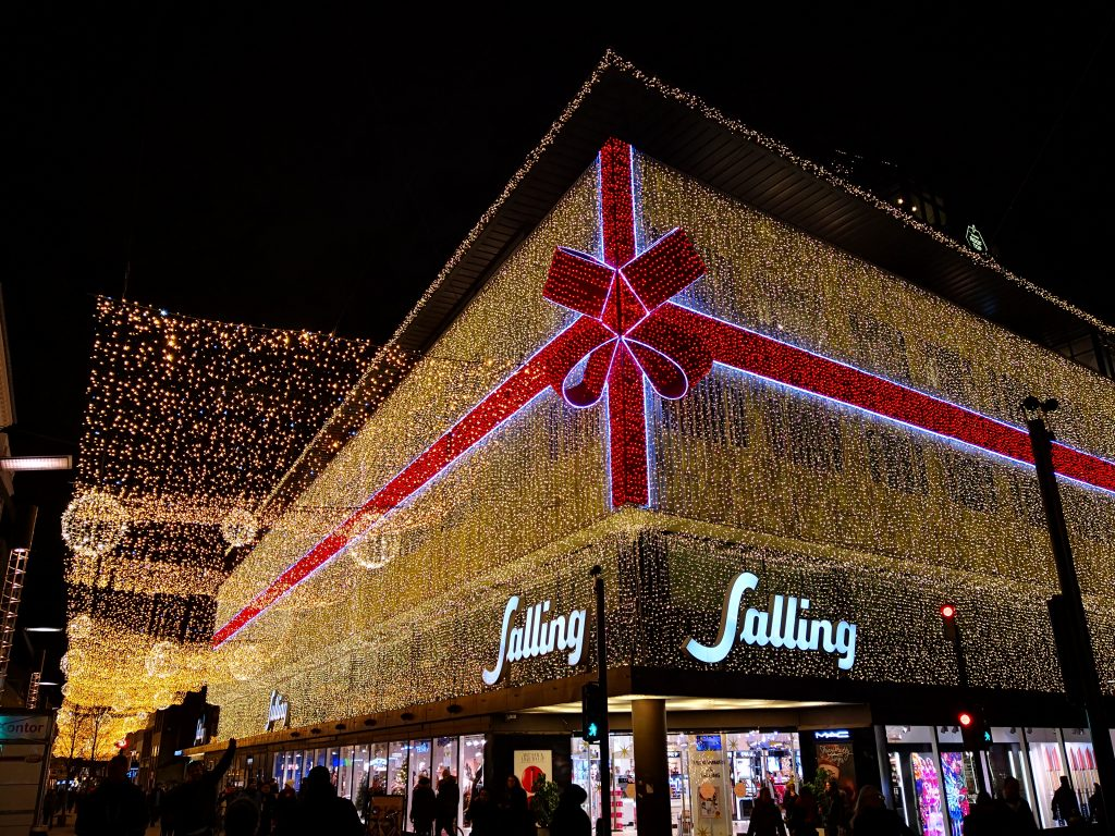 Salling - stormagasinets juleudstilling