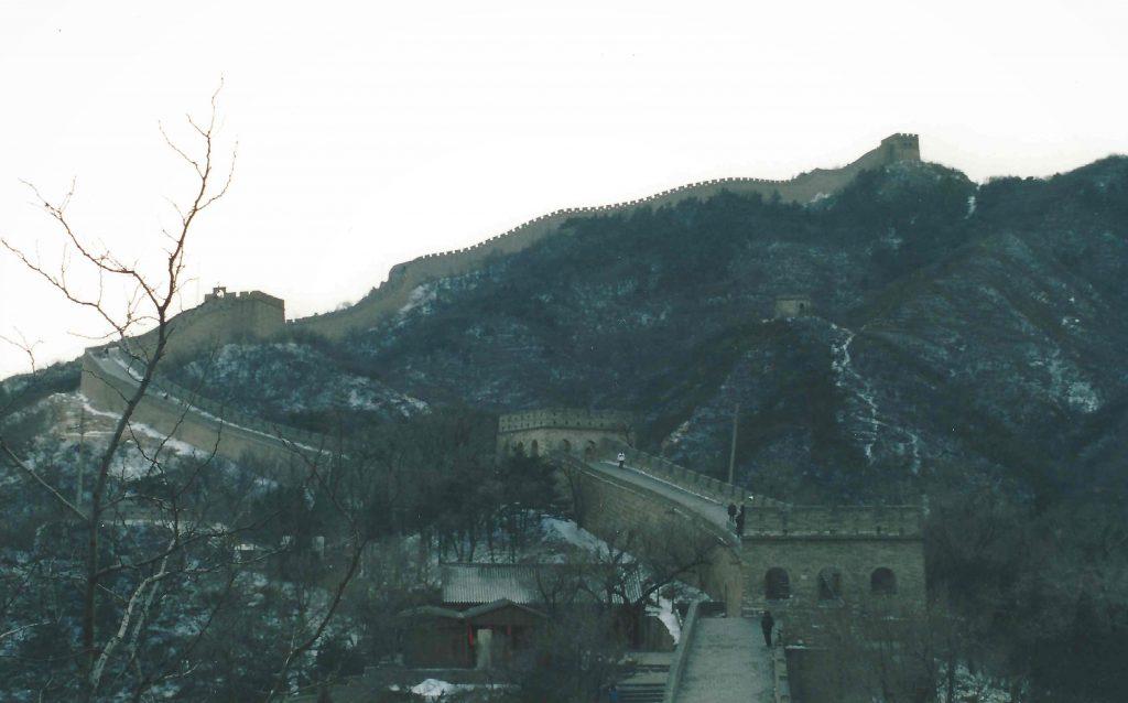 Den Kinesiske Mur kan ikke ses fra Månen