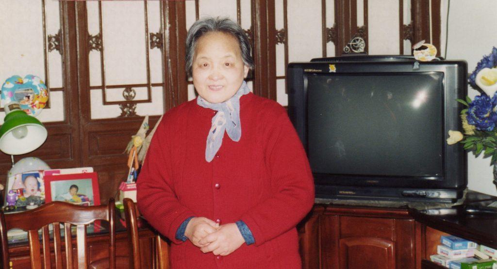 På besøg hos en enke i Beijings slum
