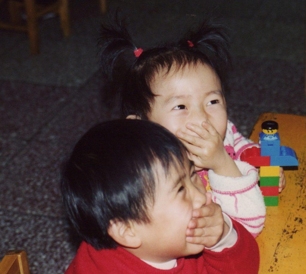 Børnehavebørn i Beijing